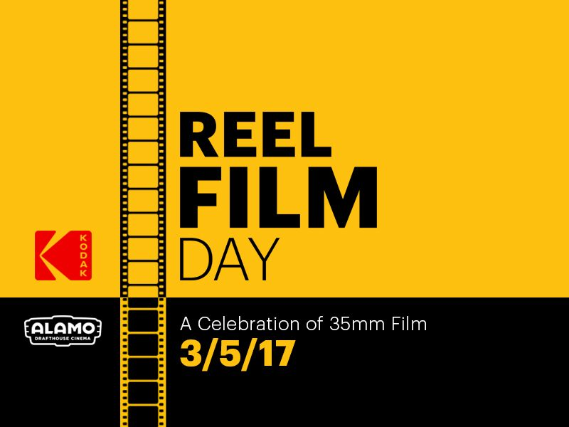 on 3 5 alamo drafthouse and kodak are bringing you the first reel