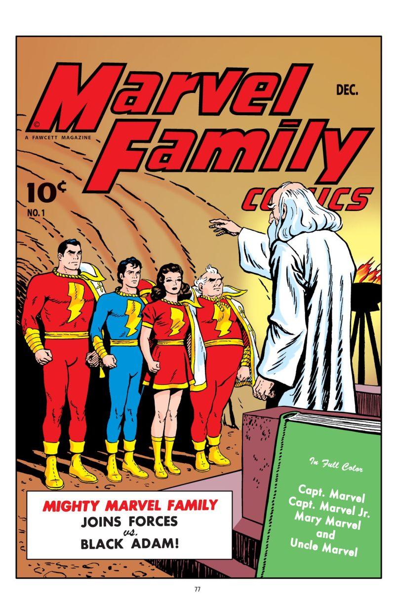 captain marvel original comic book
