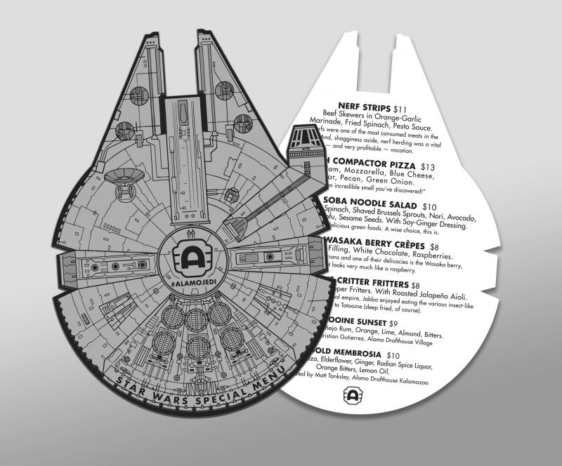Extrêmement The Force is Strong with our STAR WARS–themed Menu Specials  GZ12