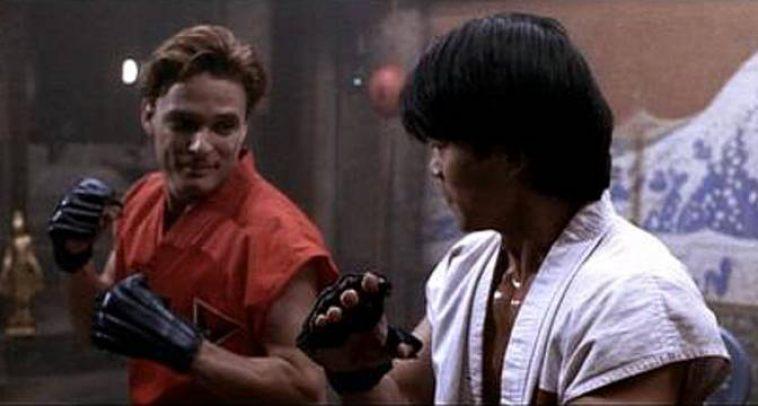 Karakter Ryu dan Ken dalam film Street Fighter.