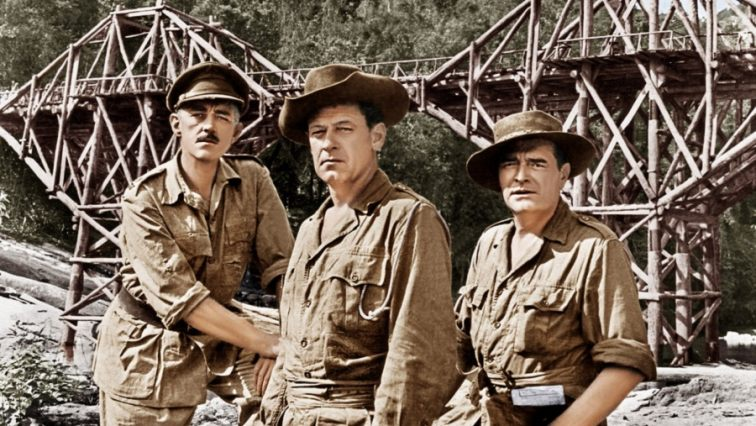 Image result for bridge on the river kwai movie