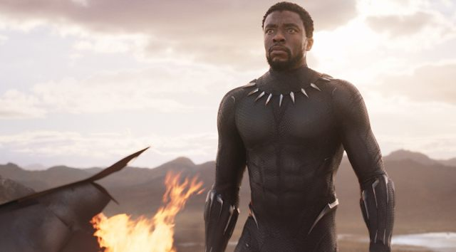 Still from 2D BLACK PANTHER