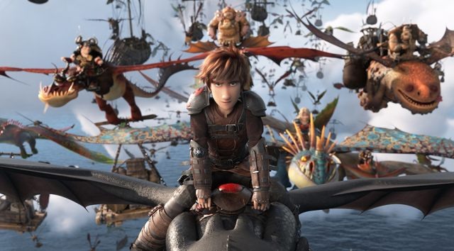 Still from HOW TO TRAIN YOUR DRAGON: THE HIDDEN WORLD Cereal Party