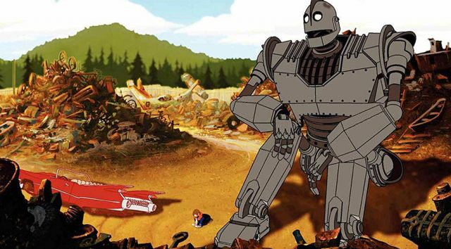 Still from THE IRON GIANT Movie Party