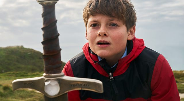 Still from THE KID WHO WOULD BE KING