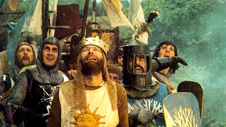 Monty Python Holy Grail Coconuts