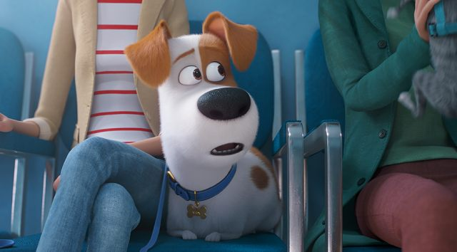 Still from THE SECRET LIFE OF PETS 2 Cereal Party