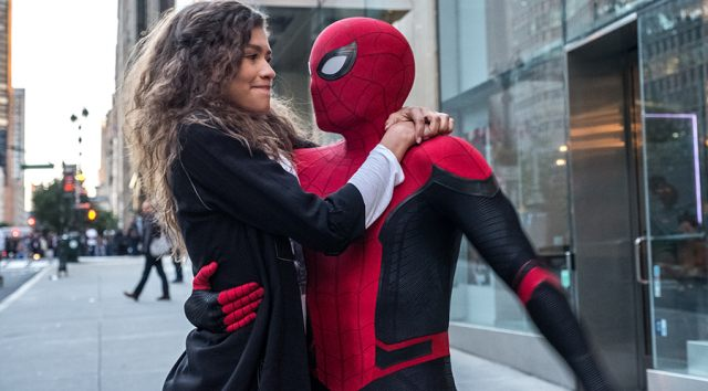 Still from 2D SPIDER-MAN: FAR FROM HOME