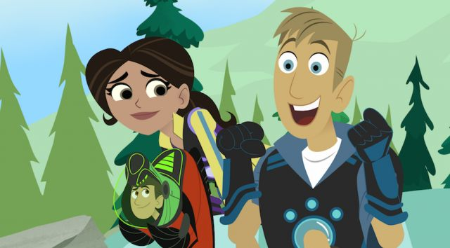 Still from PBS Kids at the Alamo: WILD KRATTS ALASKA: HERO'S JOURNEY